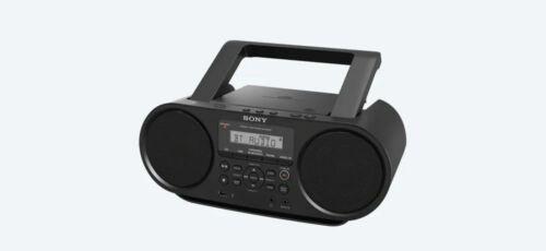 Sony ZS-RS60BT CD Boombox W/ Bluetooth, NFC, AM/FM, USB, Headphone/Line-in Jacks