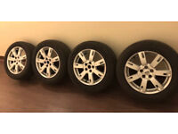 """GENUINE LAND ROVER DISCOVERY 4/3 A SPOKE HSE 19""""INCH ALLOY WHEELS+PIRELLI TYRES"""