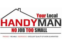 Handyman/Odd job man - Friendly, reliable, inexpensive service, excellent quality of work guaranteed