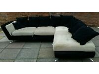 Luxury corner sofa free asap delivery