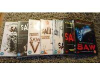 SAW DVD 1-7 set
