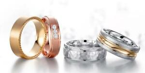 Large variety of Wedding Bands, Engagement Rings, Anniversary Rings & Luxury Rings