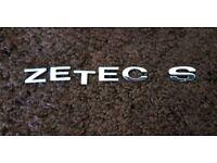 ZETEC S badge