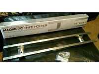Magnetic kitchen knife holder BNIB