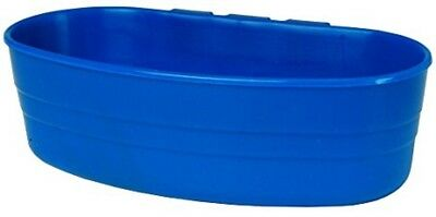 Little Giant Blue 1 Pint Plastic Cage Cup Poultry Feeder Waterer Rabbit New