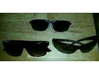 Mens sunglasses x 3