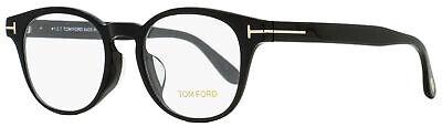 Tom Ford Oval Eyeglasses TF5400F 001 Black 49mm (Eyeglasses Tom Ford)