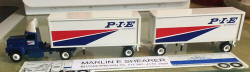 P I E NATIONWIDE TRUCKING DOUBLES TRACTOR TRAILER WINROSS TRUCK