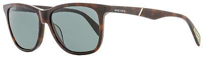 Diesel Rectangular Sunglasses DL0222 52N Dark Havana  57mm (Shades Diesel)