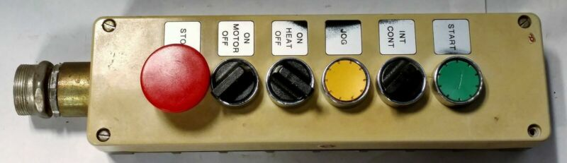 Siemens 35sb180-6 Push Button Station