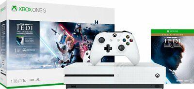 Microsoft - Xbox One S 1TB Star Wars Jedi: Fallen Order™ Deluxe Edition Console