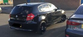 """2009 Bmw 120d 5 door stunning car with 19"""" bmw alloys, remapped 231bhp"""