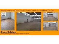 Self contained business units available to let in Poplar close to All Saints Station E14