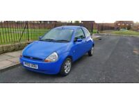 FORD KA 1.3 WITH 12000 MILES FROM NEW 12 MONTHS MOT £1095 o.no
