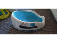Angel care soft touch Baby bath/seat support Aqua