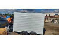 8x4 twìn wheel box trailer