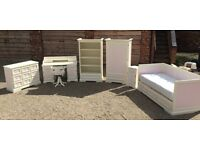 Children's bedroom furniture set - solid wood hand painted