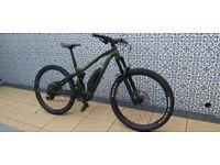 Electric Mountain Bike - 2020 Vitus E-Sommet - Small - Military Green