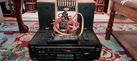 HOME CINEMA THEATRE SURROUND SOUND GALE 3010S SPEAKERS JVC RX 7010R AV RECEIVER