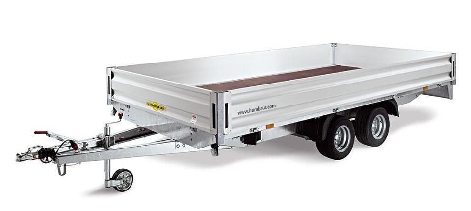 Humbaur Hochlader Typ HN 254118, 4100x1850x350mm, 2500kg, NEU! in Pirk