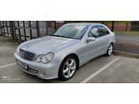 Mercedes-Benz, C CLASS, Saloon,Nov 2005, Full Service history,Low miles