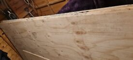 Sheets of timber