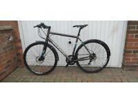 Chain reaction Vitus mach3 Hybrid bike size 58cms