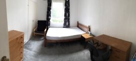 Spacious double bedroom at 1st Floor Flat