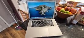 Apple MacBook Pro 15 inch Unibody Intel 2.53ghz cpu