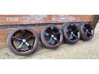 """Genuine Audi Concave Rotor 19"""" Alloy Wheels 8T0601025BF 9J 5x112 A4 S4 S5 A5 A6"""
