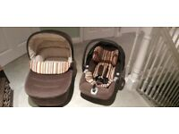 Mamas & Papas pram and travel set