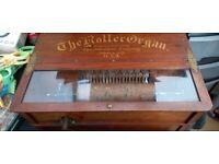 roller organ music box