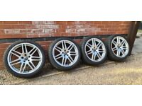 "Genuine Audi Le Man 19"" Alloy Wheels 5x112 4F0601025BA A6 S6 A4 S4"