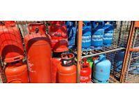 Butane & Propane Gas Bottles - All Sizes