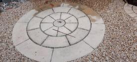 Large stone circle with diameter of 3 metres.