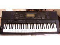 Casio electronic keyboard complete in box