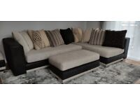 Sofology Corner Fabric Sofa