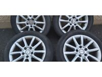 4 Seat Leon Alloys and Tyres