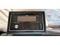 JVC DOUBLE DIN DAB CD USB AUX RADIO PLAYER