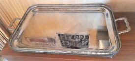 Vintage Ornate Serving Tray