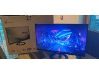 QHD PC Monitor - 2560 x 1440 Asus VX24AH 24 inch Frameless IPS 5ms - Dual HDMI ports