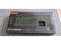 Razer Black widow Ultimate Stealth Keyboard
