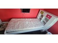 Girls bed with sliding drawers
