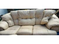 2 piece 3 seater sofa needs to go ASAP
