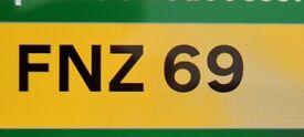 Distinctive Cherished Private Registration Number
