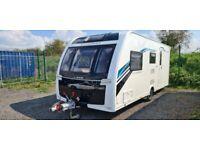 2017 Lunar Clubman ES Touring Caravan with motor mover