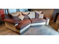 Scs left corner sofa