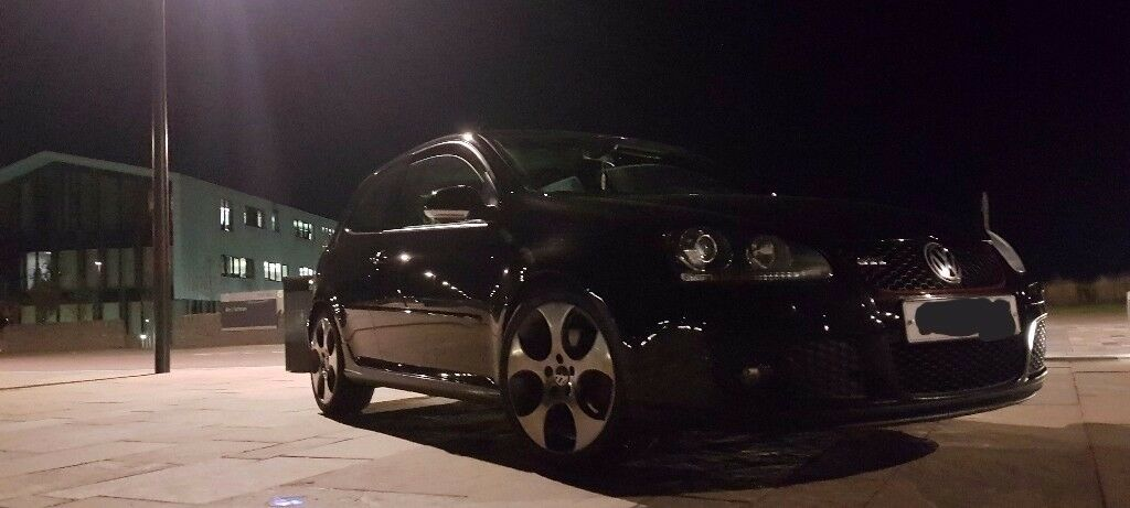 08 golf gti 3dr 2.0tfsi manual pearl black immaculate fully loaded spec **RUST FREE CAR**