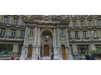 Refurbished Office Rooms Available In Finsbury Circus Minutes' Walk Away From Moorgate Station