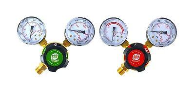 Sa - Oxygen And Acetylene Regulators Welding Gas Gauges - Rear Entry - Ldp